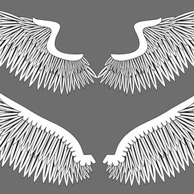 Vector Wings - Free vector #206423