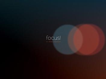 Focus - бесплатный vector #206463
