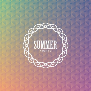 Summer Nights - vector #206603 gratis