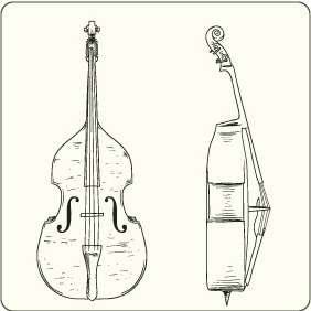 Music Instruments 2 - vector gratuit #206763
