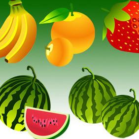 Free Vector Fruit - Free vector #206973