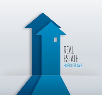 Real Estate Sign - Free vector #207053