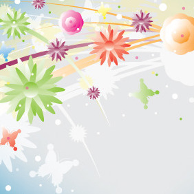 Colorful Spirit Of Spring - Free vector #207183