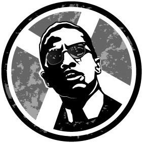 Malcolm X Vector - vector #207493 gratis