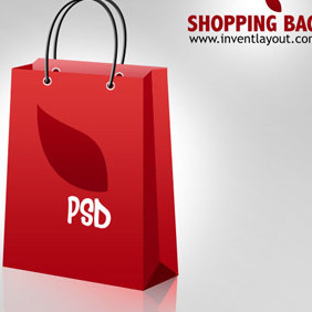 Shopping Bag Icon - Free vector #207873