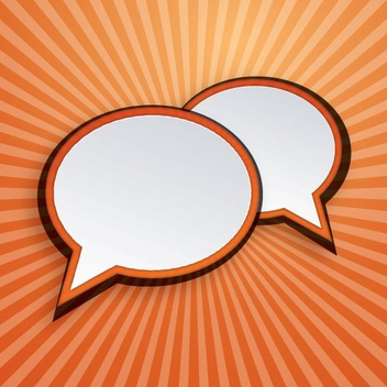 Speech Bubbles - vector gratuit #207913