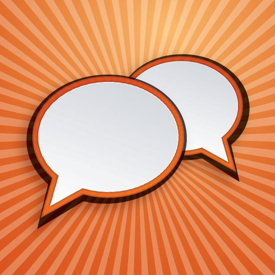 Speech Bubbles - Free vector #207913