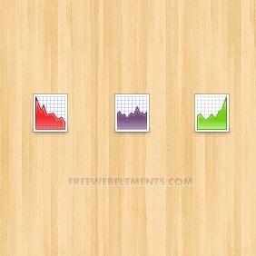 Vector Chart Icons - Kostenloses vector #208133