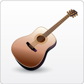 Guitar - Kostenloses vector #208373