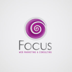 Web Marketing Logo 01 - Free vector #208513