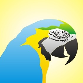 Blue Parrot - Free vector #209133