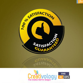 Satisfaction Guaranteed - Free vector #209163