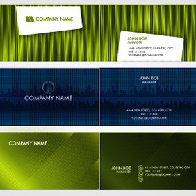 Vector Business Card Templates 02 - Kostenloses vector #209263