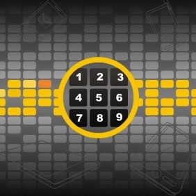Number Keypad - Free vector #209313