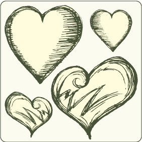 Hearts Set 2 - Free vector #209493