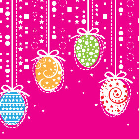 Easter Decoration - Free vector #209503