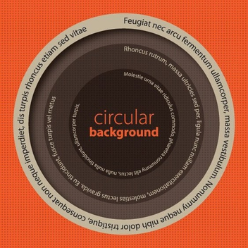 Circular Background - vector #209563 gratis