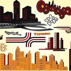 Skyline Vectors - vector #209663 gratis
