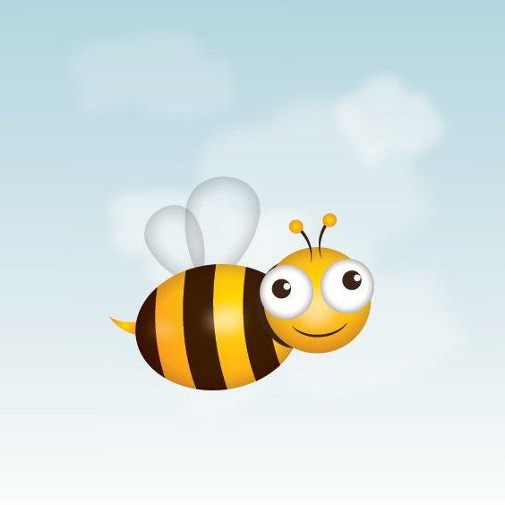 Bee - Free vector #209803