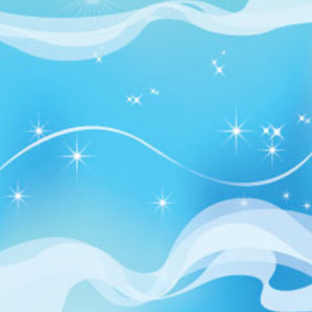 Blue Sky Free Abstract Vector - vector #209823 gratis