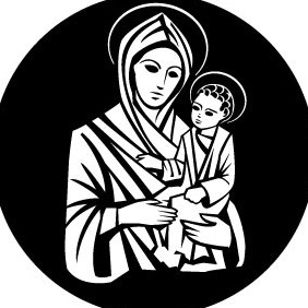 Virgin Mary And Jesus Christ Vector - Free vector #209973