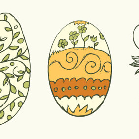 Easter Elements - Kostenloses vector #210043
