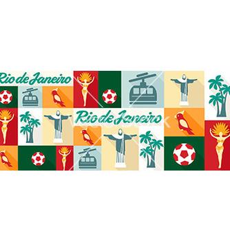 Free travel and tourism icons rio de janeiro vector - Free vector #210053