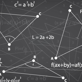 Math Problems - vector gratuit #210443