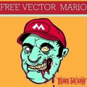 Zombie Mario - Free vector #210543