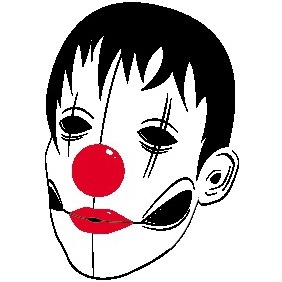 Fluid Clown - Free vector #210593