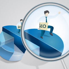 SEO Services - Free vector #210913