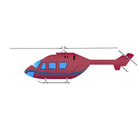 Free Helicopter Vector Illustration - Kostenloses vector #211443