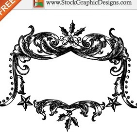 Free Christmas Vector Hand Drawn Frames - Kostenloses vector #212003