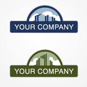 Real Estate Logo - Free vector #212113