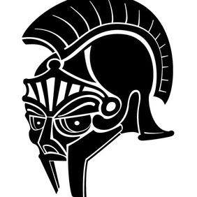 Roman Helmet Vector - vector #212513 gratis