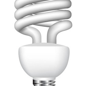 Vector Eco Lightbulb - Free vector #212623