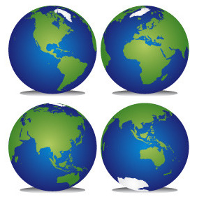 Planet Earth - Kostenloses vector #212643