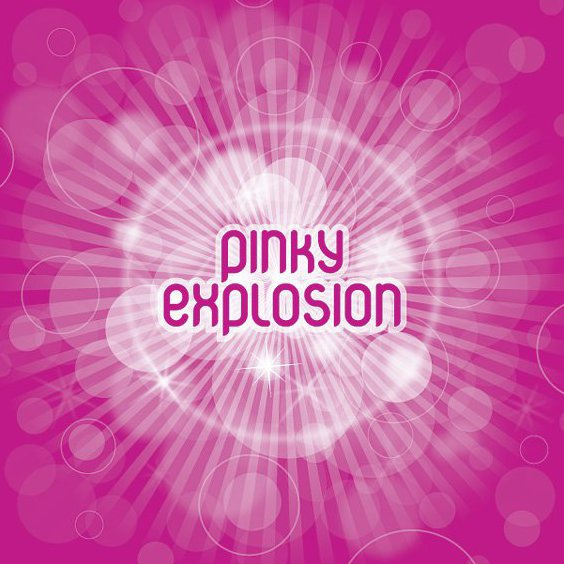 Pinky Explosion - Free vector #212853