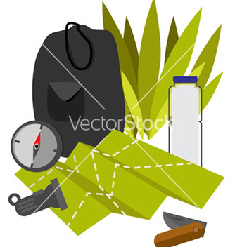 Free watercolor set vector - бесплатный vector #213043