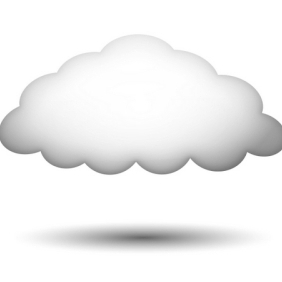 Cloud Shape - Free vector #213343