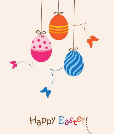 Easter Card - Free vector #213863