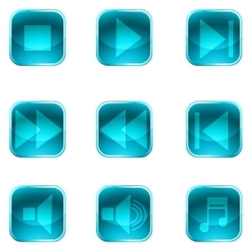 Instrument Buttons - vector gratuit #213893