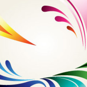 Abstract Designs In Clear Background - vector #213973 gratis