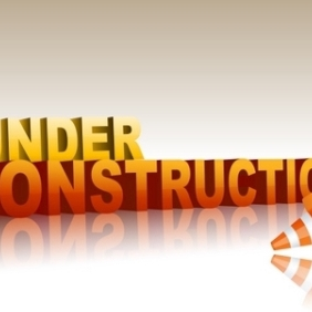 Under Construction Text - vector gratuit #214533