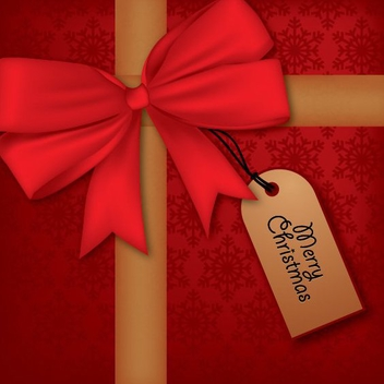 Christmas Present - Kostenloses vector #214803
