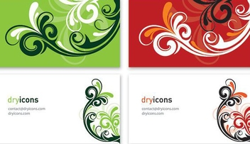 Business Cards 4 - vector gratuit #215063