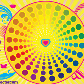 Colorful Life Vector - Free vector #215293