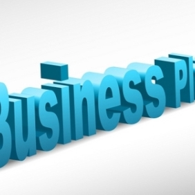 Business Plan - Free vector #215493