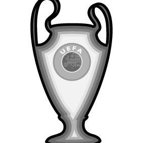 UEFA Champions LEague Trophy Vector - Kostenloses vector #215623