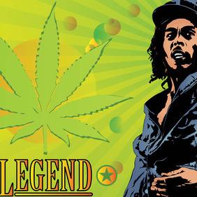 Bob Marley Legend - Free vector #215723